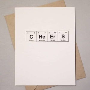 Cheers Sentimental Elements Card by theBird+theBeard