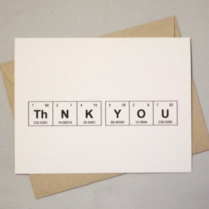 Thank You Sentimental Elements Card by theBird+theBeard